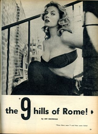 Anita Ekberg photo spread, page 1-8x6